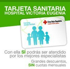 Banner tarjeta sanitaria Hospital Victoria Eugenia Hospital Privado