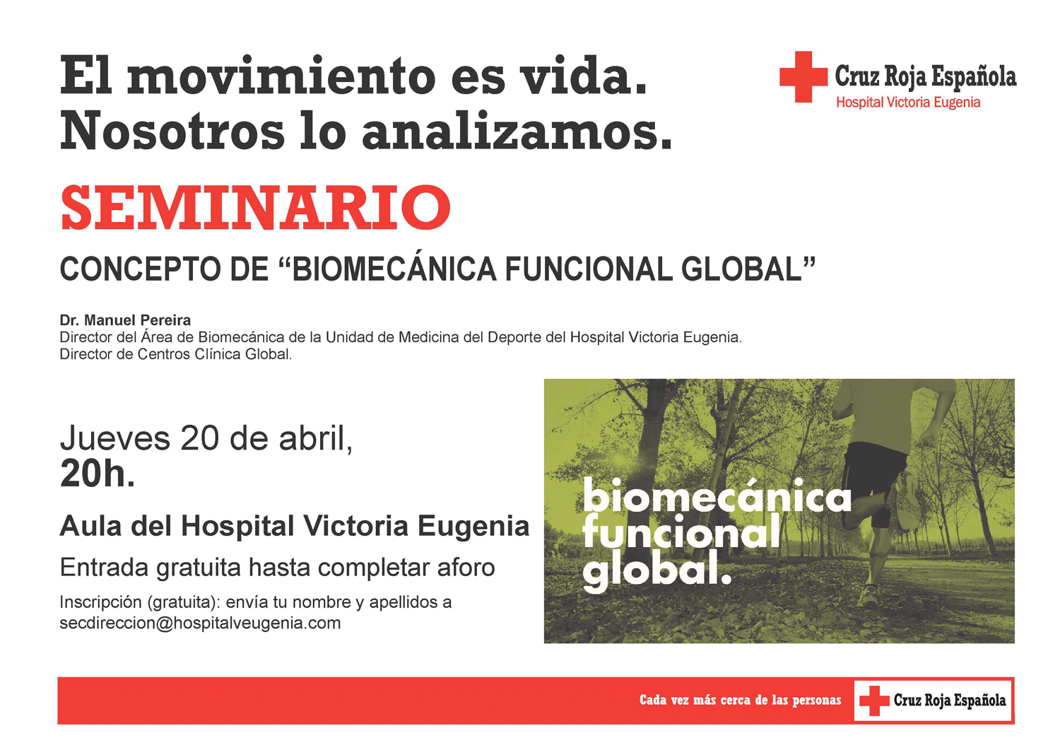Seminario Biomecánica Funcional Global Hospital Cruz Roja Sevilla