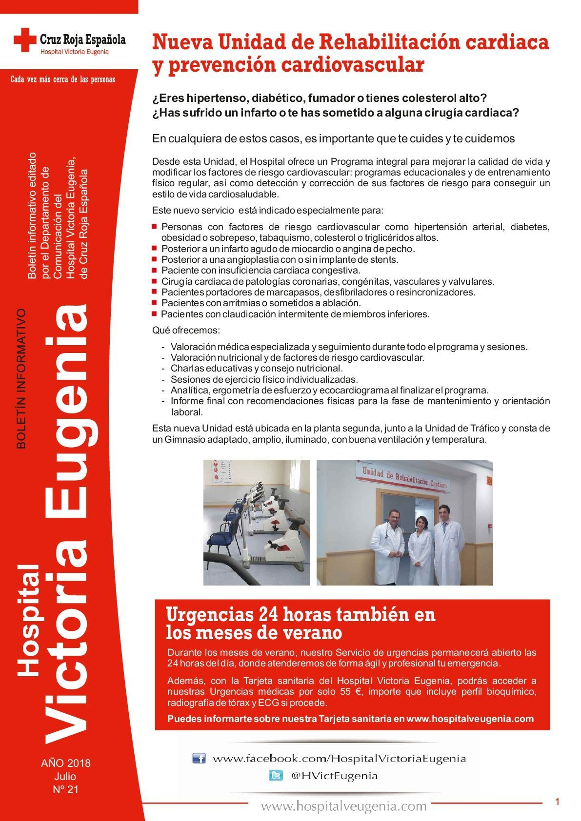 boletin 21 hospital victoria eugenia hospital privado sevilla