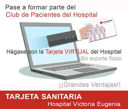 Tarjeta sanitaria virtual Hospital Victoria Eugenia Sevilla hospital privado